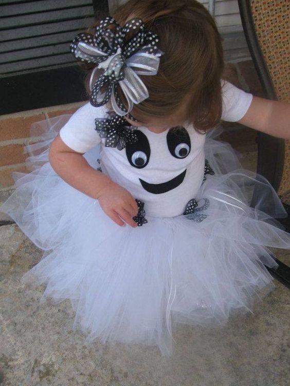 fantasia halloween infantil fantasmas