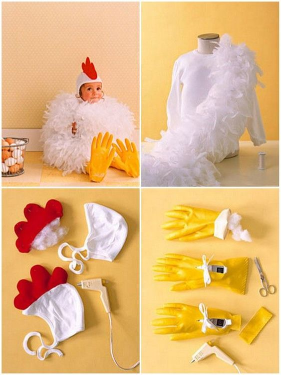 fantasia halloween infantil galinha