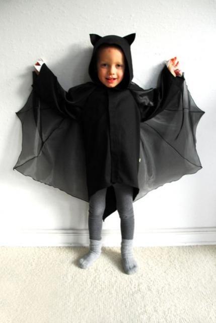 fantasia halloween infantil morcego