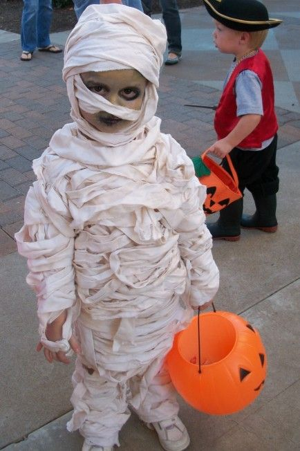 fantasia halloween infantil mumia
