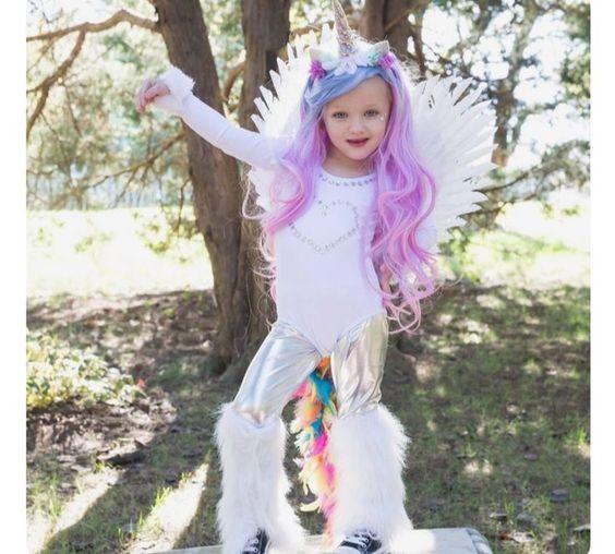 fantasia unicornio carnaval infantil 2