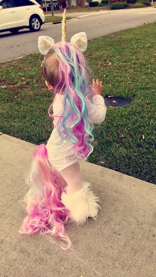 fantasia unicornio carnaval infantil 4