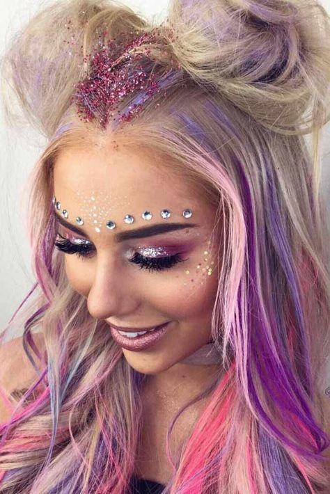 fantasia unicornio carnaval maquiagem 1