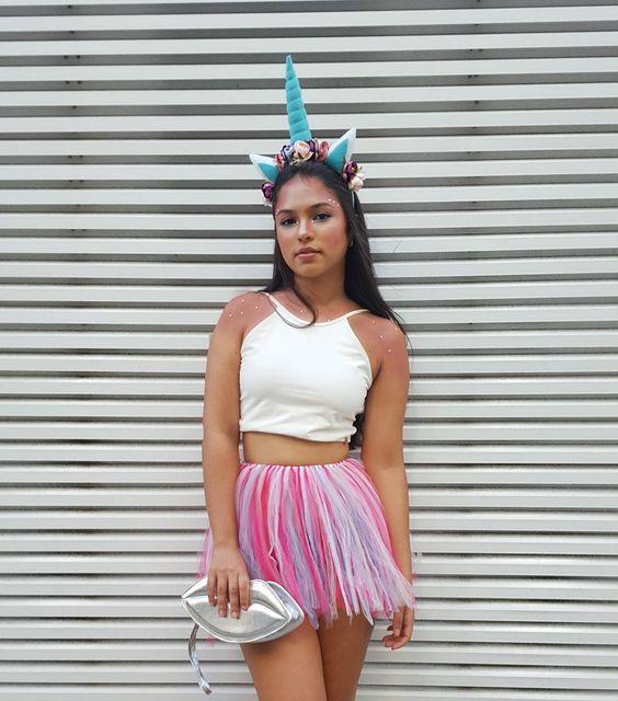 fantasia unicornio carnaval simples 2