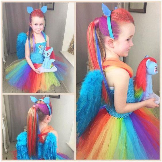 fantasia unicornio carnaval tule 1