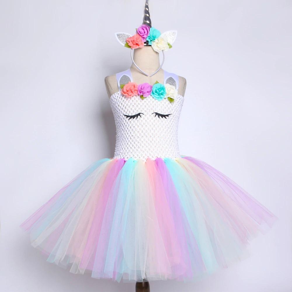 fantasia unicornio carnaval tule 2