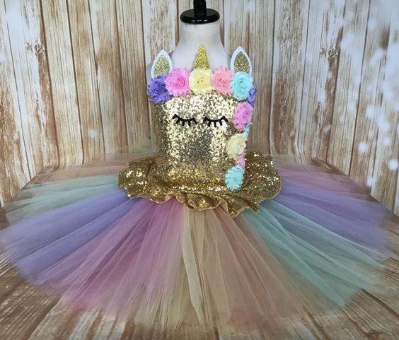 fantasia unicornio carnaval tule 3