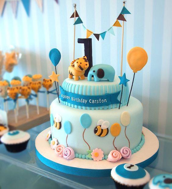 festa 1 ano bolo