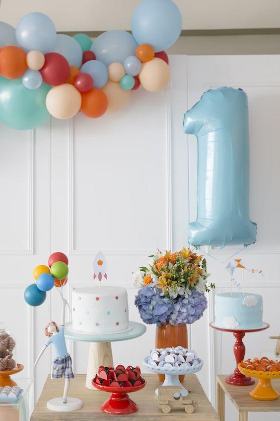 festa 1 ano decoracao simples