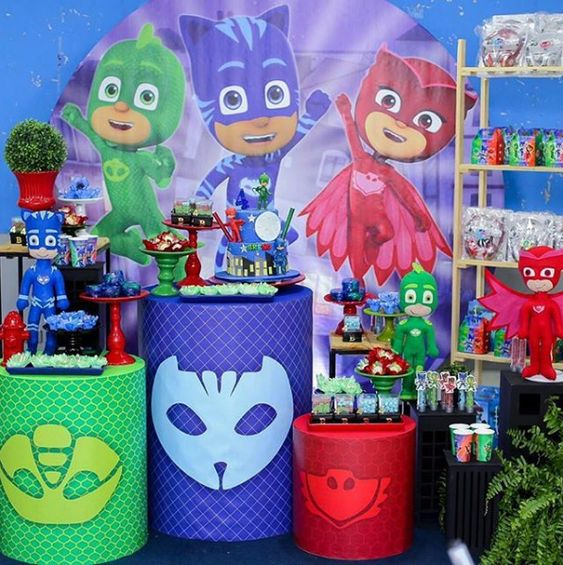 festa PJ masks decoracao ideias