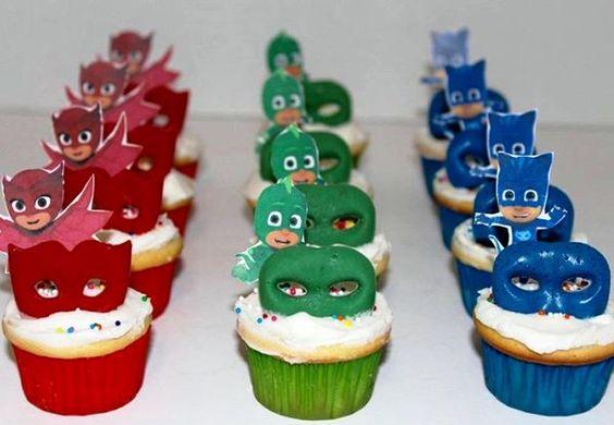 festa PJ masks doces