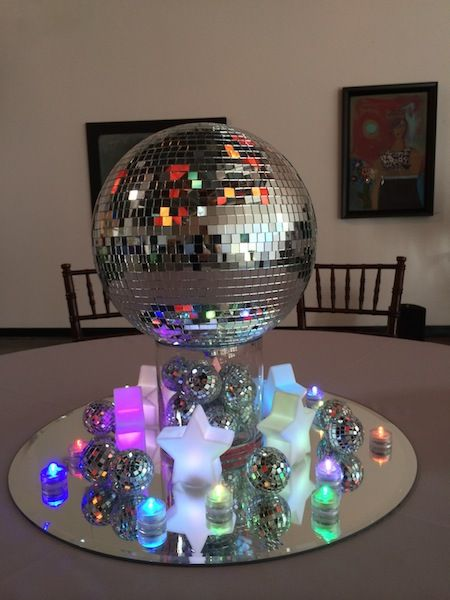 festa anos 80 ideias bola disco