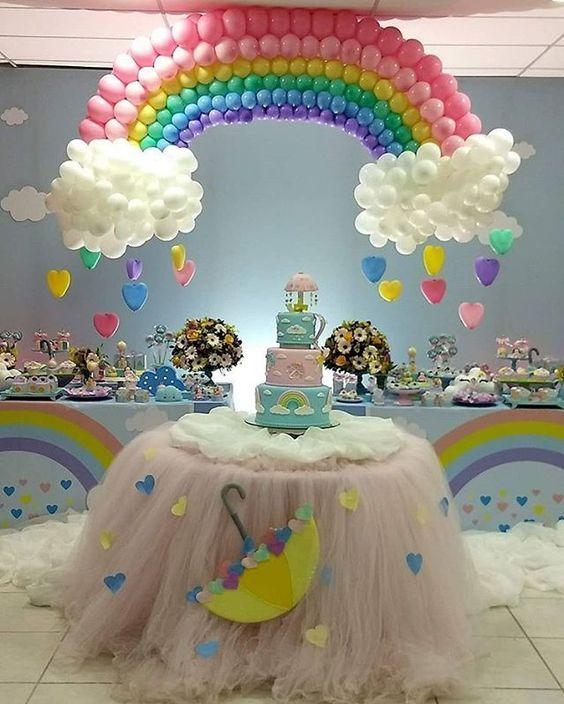 festa arco iris decoracao 1