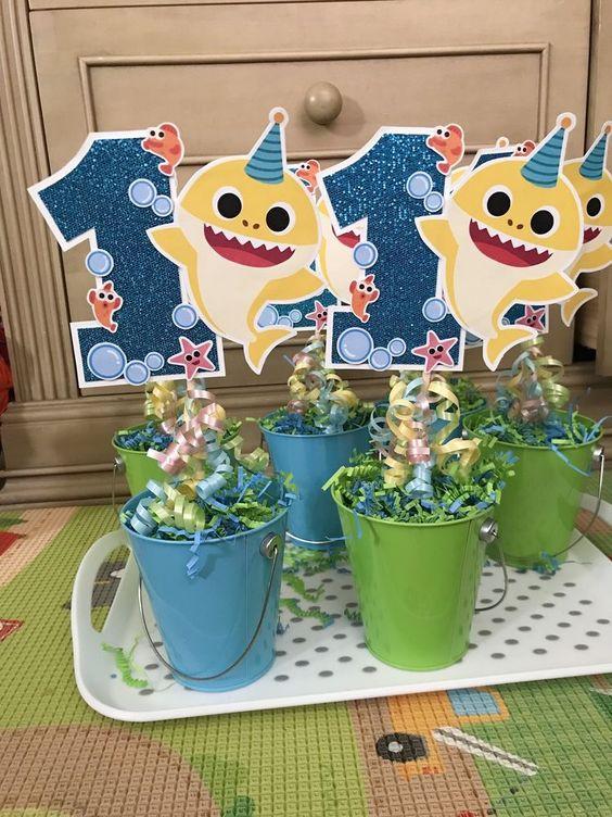 festa baby shark ideias 1