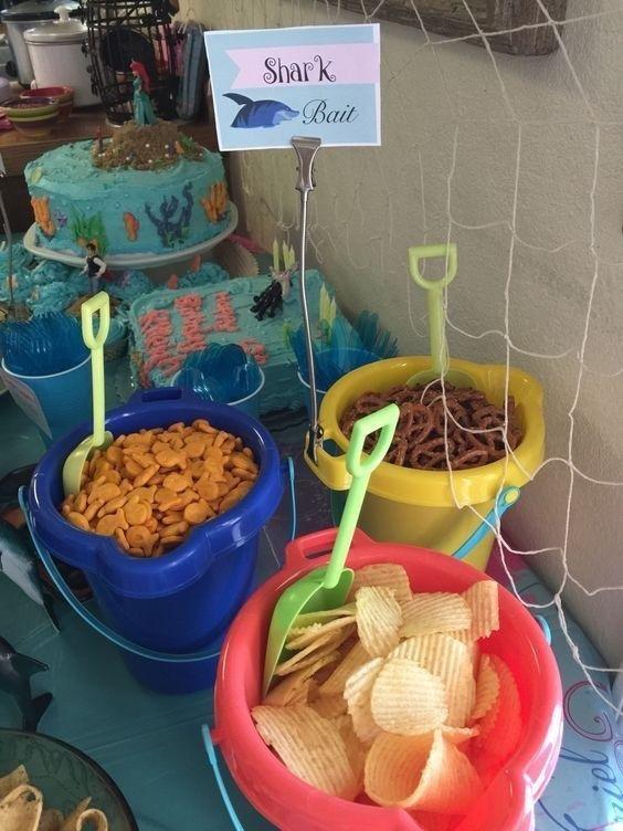 festa baby shark ideias