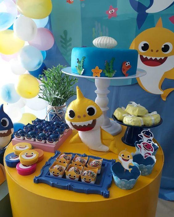 festa baby shark simples 1
