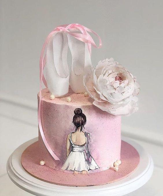 festa bailarina bolo sapatinha