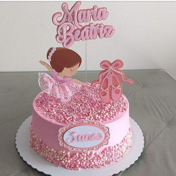 festa bailarina bolo
