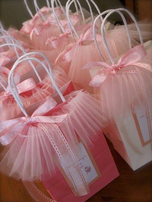 festa bailarina lembrancinha sacola