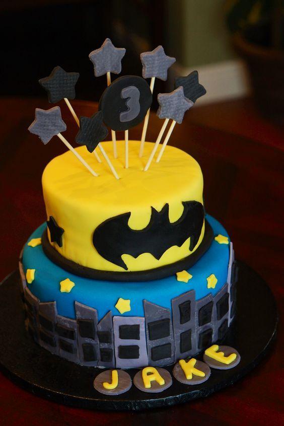 festa batman bolo 1