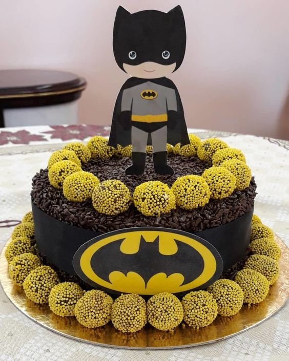 festa batman bolo