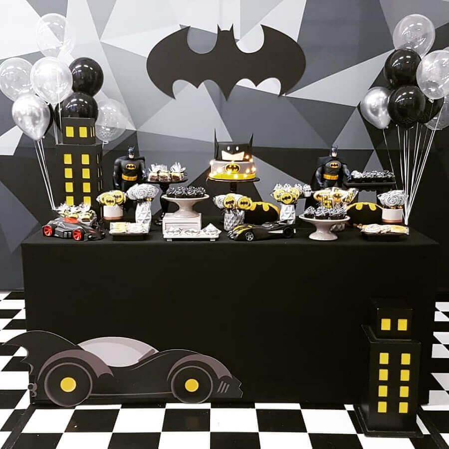 festa batman decoracao 1