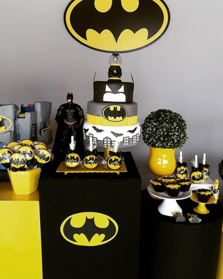 festa batman decoracao ideias