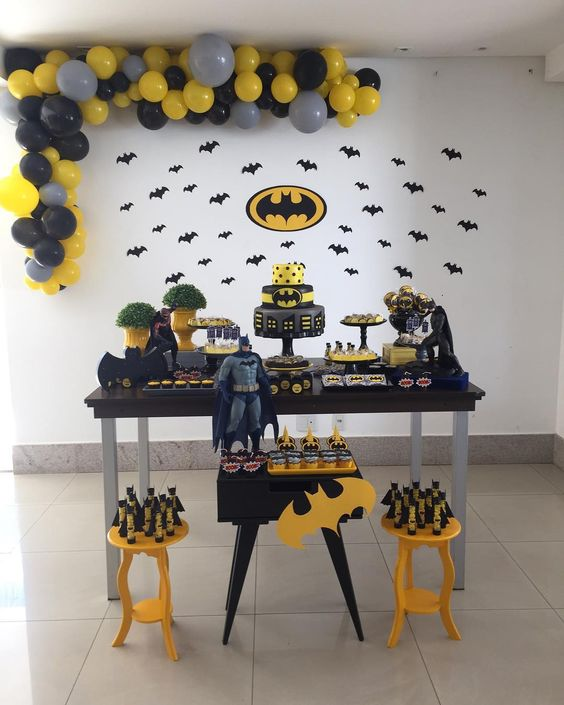 festa batman decoracao