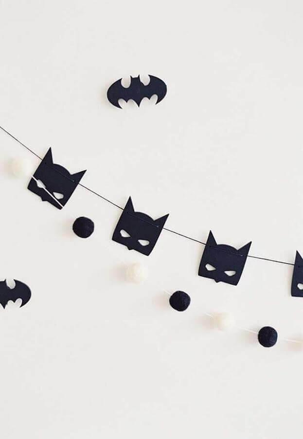 festa batman ideias