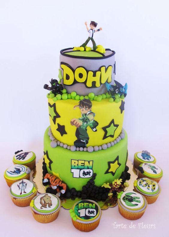 festa ben 10 bolos 1