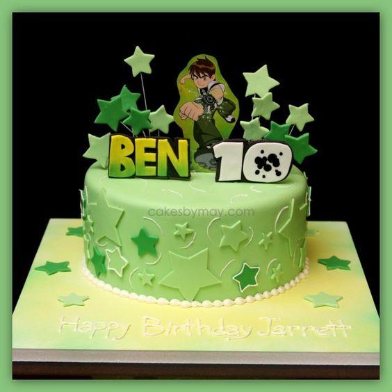 festa ben 10 bolos 3
