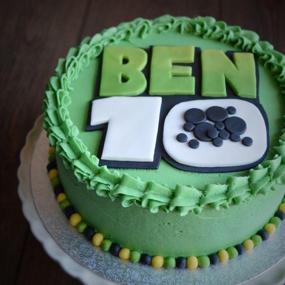 festa ben 10 bolos 4
