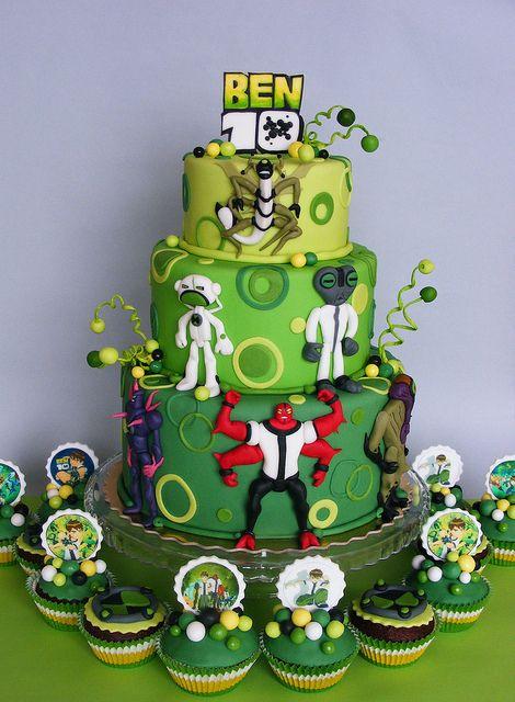 festa ben 10 bolos