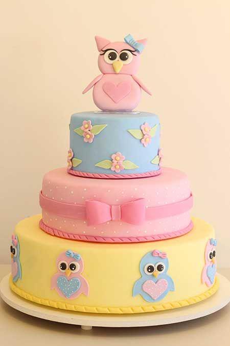 festa coruja bolo decorado 4