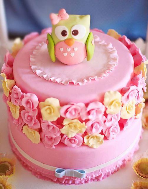 festa coruja bolo decorado 5
