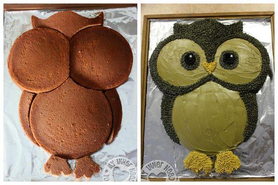 festa coruja bolo decorado 6