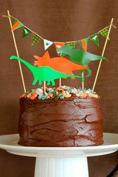 festa dinossauro bolo 1