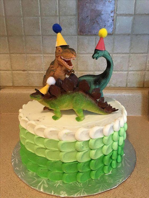 festa dinossauro bolo 2