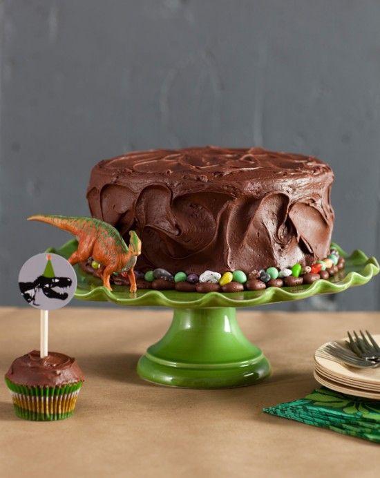 festa dinossauro bolo