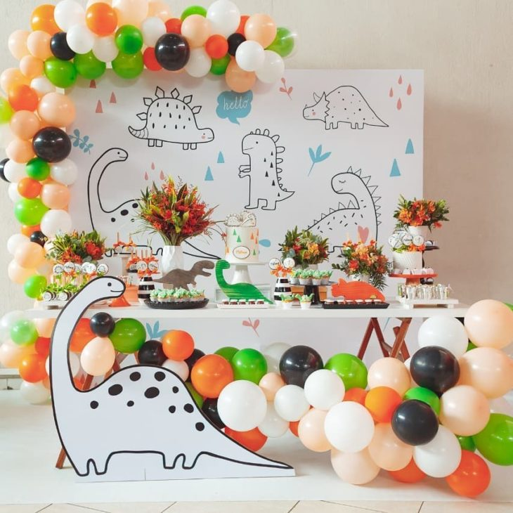festa dinossauro decoracao 3