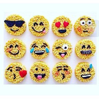 festa emoji docinhos