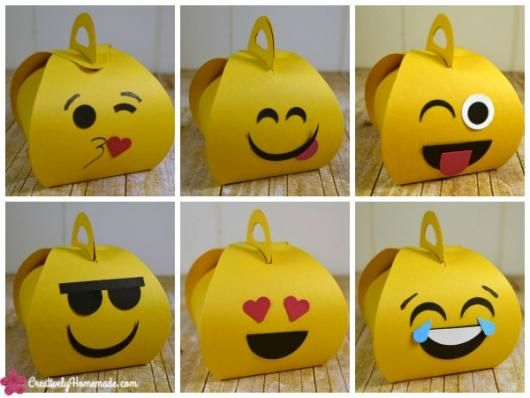 festa emoji lembrancinha