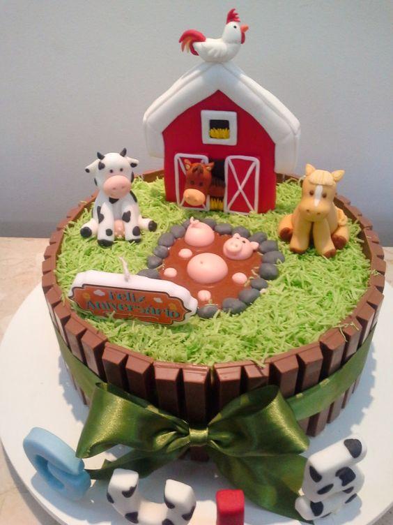 festa fazendinha bolo 2
