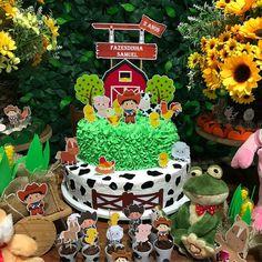 festa fazendinha bolo 3