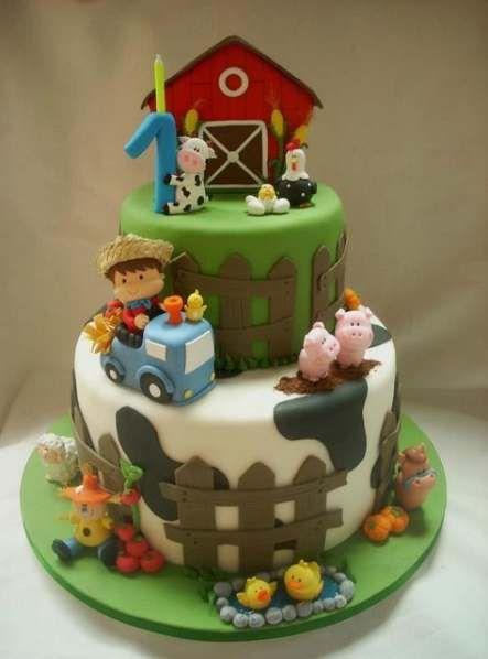 festa fazendinha bolo 6