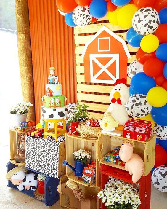 festa fazendinha decoracao 3