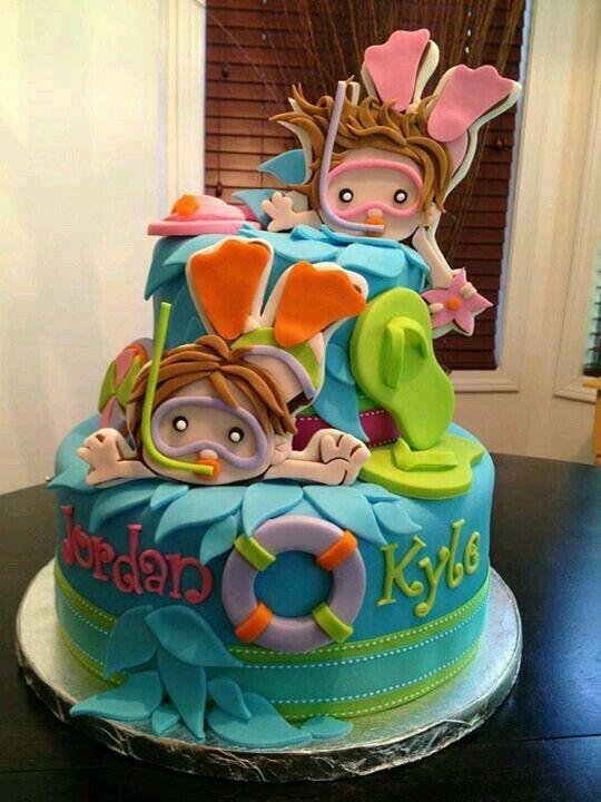 festa fundo mar bolo 3