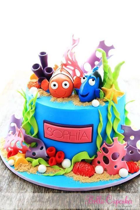 festa fundo mar bolo 4