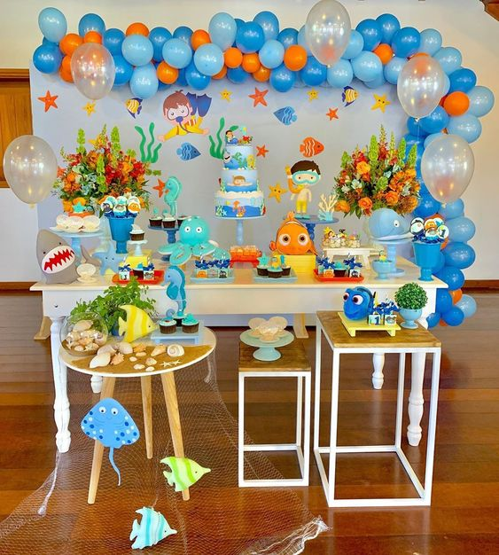festa fundo mar decoracao 2
