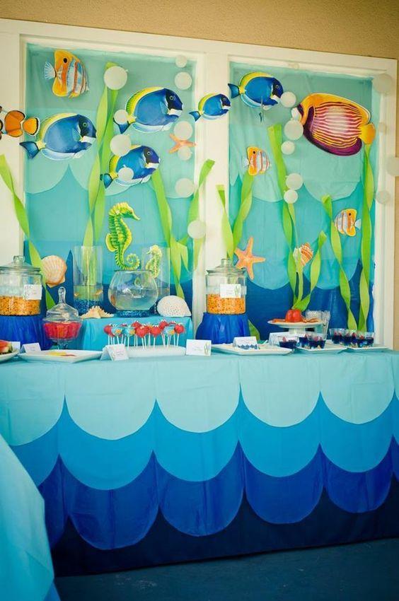 festa fundo mar decoracao 3